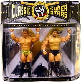 WWE Wrestling Classic Superstars Limited Edition Action Figure 2-Pack Ted Dibiase Jr. &