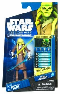 Star Wars 2010 Clone Wars Animated Action Figure CW No. 23 Kit Fisto