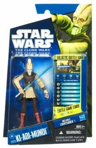 Star Wars 2010 Clone Wars Animated Action Figure CW No. 25 Ki-Adi Mundi