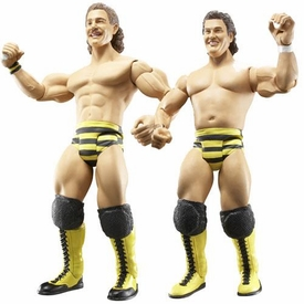 WWE Wrestling Classic Superstars Exclusive Series 8 Action Figure 2-Pack Brian Blair & Jim Brunzel [Killer Bees] Damaged Package, Mint Contents!