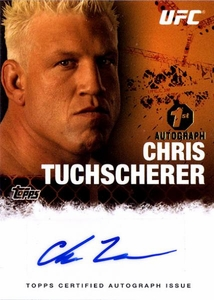 UFC Topps Ultimate Fighting Championship 2010 Championship Single Card Autograph Fighters & Personalities FA-CT Chris Tuchscherer BLOWOUT SALE! 1st Autograph!