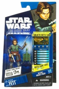 Star Wars 2010 Clone Wars Animated Action Figure CW No. 32 Boba Fett