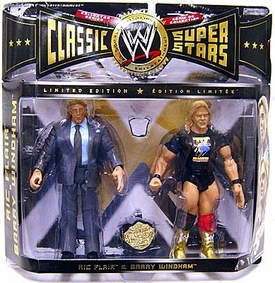 WWE Jakks Pacific Wrestling Classic Superstars Exclusive Series 7 Action Figure 2-Pack Ric Flair & Barry Windham