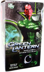 DC Direct Green Lantern Movie Limited Edition Sinestro Bust