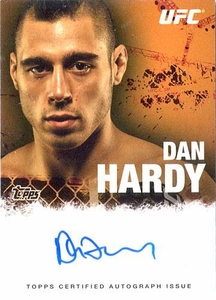 UFC Topps Ultimate Fighting Championship 2010 Championship Single Card Autograph Fighters & Personalities FA-DH Dan Hardy
