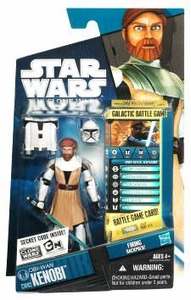Star Wars 2010 Clone Wars Animated Action Figure CW No. 02 Obi-Wan Kenobi BLOWOUT SALE!