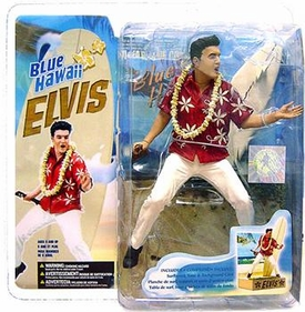 McFarlane Toys Action Figure Elvis Presley #6 Blue Hawaii Aloha Elvis