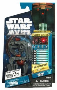 Star Wars 2010 Clone Wars Animated Action Figure CW No. 04 Destroyer Droid BLOWOUT SALE!