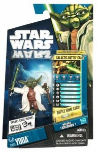 Star Wars 2010 Clone Wars Animated Action Figure CW No. 05 Yoda