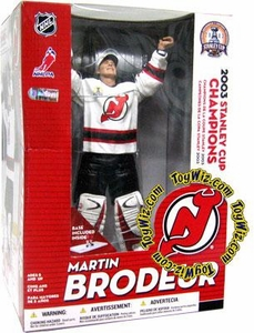McFarlane Toys NHL Sports Picks 12 Inch Action Figure Martin Brodeur (New Jersey Devils)