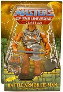 He-Man Masters of the Universe Classics Exclusive Action Figure Battle Armor He-Man