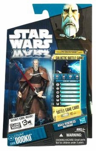 Star Wars 2010 Clone Wars Animated Action Figure CW No. 06 Count Dooku