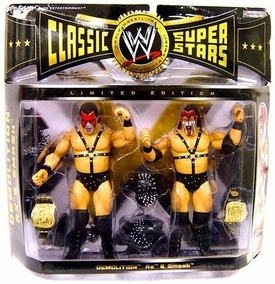 WWE Jakks Pacific Wrestling Classic Superstars Exclusive Series 5 Action Figure 2-Pack Demolition (Ax & Smash)