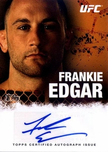 UFC Topps Ultimate Fighting Championship 2010 Championship Single Card Autograph Fighters & Personalities FA-FE Frankie Edgar