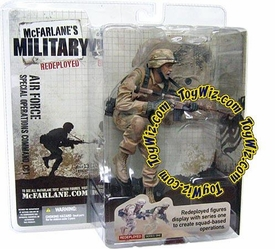 McFarlane Toys Military Soldiers REDEPLOYED Series 1 Action Figure U.S. Air Force Special Operations Command, CCT (*Random Ethnicity)