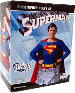 DC Direct Superman Limited Edition 5.75 Inch Bust Chistopher Reeve as Superman