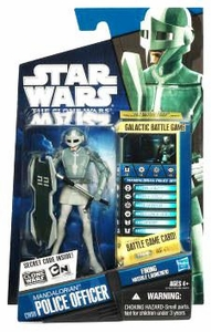 Star Wars 2010 Clone Wars Animated Action Figure CW No. 09 Mandalorian Police Officer