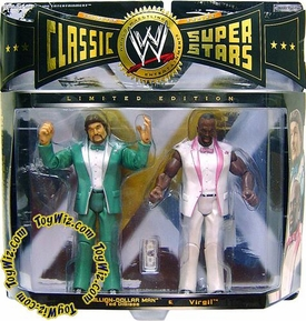 WWE Jakks Pacific Wrestling Classic Superstars Exclusive Series 5 Action Figure 2-Pack Million Dollar Man & Virgil Hard to find!