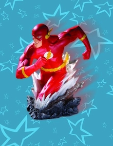 Heroes of The DCU Bust The Flash