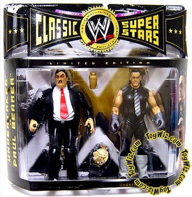 WWE Jakks Pacific Wrestling Classic Superstars Exclusive Action Figure 2-Pack Undertaker & Paul Bearer