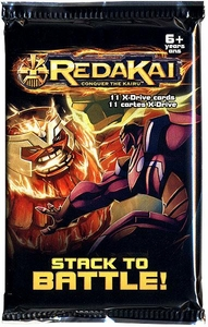 Redakai Card Game HOBBY Edition X-Drive Power Pack Booster Pack [11 Cards]