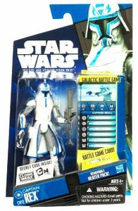 Star Wars 2010 Clone Wars Animated Action Figure CW No. 12 Rex in Cold Weather Gear