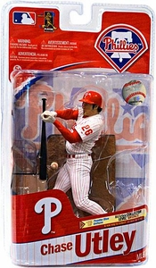 McFarlane Toys MLB Sports Picks Series 27 Action Figure Chase Utley (Philadelphia Phillies) White Uniform
