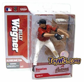 McFarlane Toys MLB Sports Picks Series 11 Action Figure Billy Wagner (Houston Astros) Red Jersey Variant