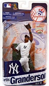 McFarlane Toys MLB Sports Picks Series 27 Action Figure Curtis Granderson (New York Yankees)