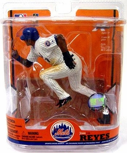 McFarlane Toys MLB Sports Picks Series 22 Action Figure Jose Reyes (New York Mets) Black & Blue Wristband Super Variant