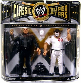 WWE Wrestling Classic Superstars Limited Edition Action Figure 2-Pack Bobby Heenan & Abe Schwartz