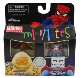 Marvel MiniMates Exclusive Mini Figure 2-Pack Nemesis & Morph
