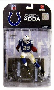 McFarlane Toys NFL Sports Picks Series 17 [2008 Wave 1] Action Figure Joseph Addai (Indianapolis Colts) Dirty Pants Variant
