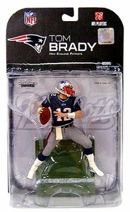 McFarlane Toys NFL Sports Picks Series 18 [2008 Wave 2] Action Figure Tom Brady (New England Patriots) Clean Variant