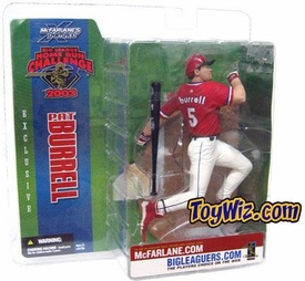 McFarlane Toys MLB Sports Picks Action Figure Pat Burrell Exclusive Sun Damaged Package, Mint Contents!
