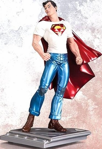 DC Collectibles Man of Steel Rags Morales Superman Statue Pre-Order ships July