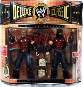 WWE Wrestling Dexluxe Classic Limited Edition Action Figure 2-Pack Jeff Hardy & Matt Hardy