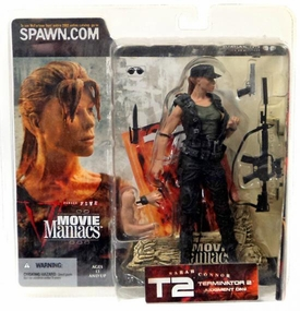 McFarlane Toys Movie Maniacs Series 5 VARIANT Action Figure Sarah Connor [Hat]