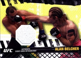 UFC Topps Ultimate Fighting Championship 2010 Championship Single Card Fight Mat Relic FM-AB Alan Belcher BLOWOUT SALE!