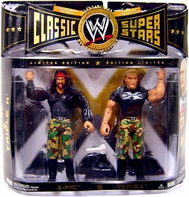 WWE Wrestling Classic Superstars Limited Edition Action Figure 2-Pack X-Pac & Triple H