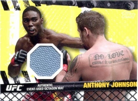 UFC Topps Ultimate Fighting Championship 2010 Championship Single Card Fight Mat Relic FM-AJ Anthony Johnson BLOWOUT SALE!
