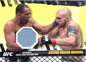 UFC Topps Ultimate Fighting Championship 2010 Championship Single Card Fight Mat Relic FM-ARN Antonio Rogerio Nogueira