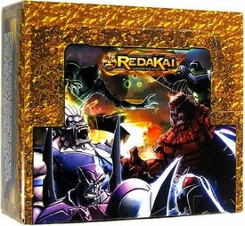 Redakai Card Game GOLD Booster Box [24 Packs]