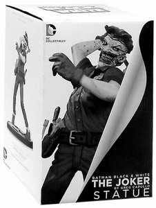 DC Collectibles Batman Black & White Joker Statue Greg Capullo