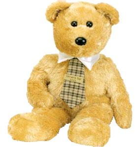Ty Beanie Buddy Dad-E 2004 the Bear