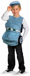 Disguise Cars 2 Deluxe Costume #30443 3D Finn McMissile (Child Standard Size)