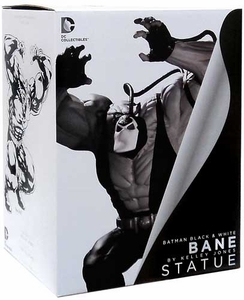 DC Direct Batman Black & White Mini Statue Bane [Designed by Kelley Jones]