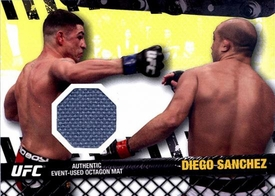 UFC Topps Ultimate Fighting Championship 2010 Championship Single Card Fight Mat Relic FM-DS Diego Sanchez