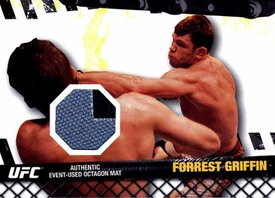UFC Topps Ultimate Fighting Championship 2010 Championship Single Card Fight Mat Relic FM-FG Forrest Griffin