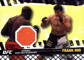 UFC Topps Ultimate Fighting Championship 2010 Championship Single Card Fight Mat Relic FM-FM Frank Mir